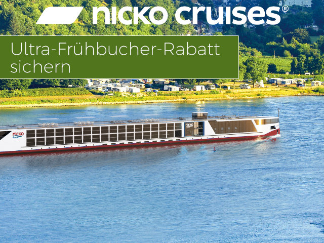 nicko Cruises Ultra-Frühbucher-Special